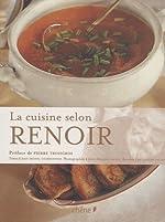 La cuisine selon Renoir de Jean-Bernard Naudin