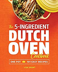 The 5-Ingredient Dutch Oven Cookbook cover.