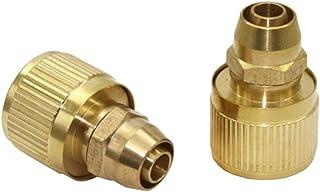YISENMIAO 10mm النحاس موصل سريع حديقة موصلات المياه 3/8 بوصة خرطوم اتصال التجهيزات حديقة الري الملحقات 1 قطعة