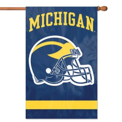 Michigan 2-sided Applique 44 X 28 Banner by Party Animal