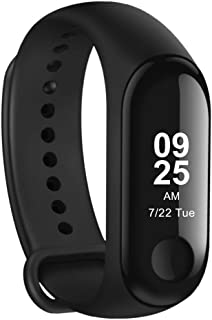 Xiaomi Mi Sport Band 3 with OLED Screen and Heart Rate Monitor, International Version Black xmsh05hm