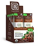 Packaged in single serving packs-perfect for desk drawers, lunchboxes, backpacks and anywhere you need a convenient pick-me-up. Tasting of decadent double Chocolate, Navitas Organics Chocolate cacao power Snacks feature nine superfoods. Energizing pr...