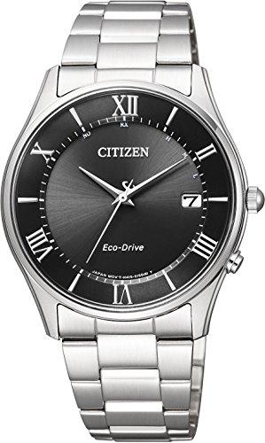 [シチズン]CITIZEN 腕時計 Citizen Collection シチズンコレクション シンプルアジャスト エコ・ドライブ電波時計 薄型 AS1060-54E メンズ