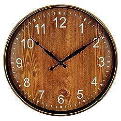 10 Best Silent Wall Clocks | Non-Ticking Clocks (Updated in