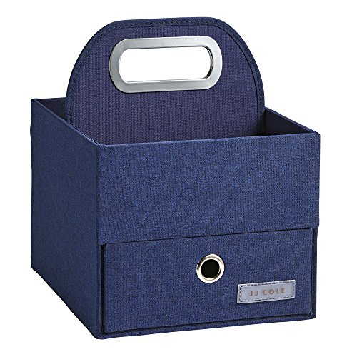 Product Image of the JJ Cole Diaper and Wipes Caddy, Navy