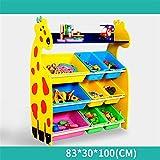 Caja de almacenamiento de juguetes para niños Organizador de almacenamiento de juguetes for niños con contenedores de plástico, cajón de estante de caja de almacenamiento: perfecto for el almacenamien