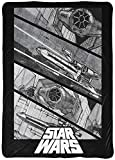 Jay Franco Star Wars Vehicle Blanket - Measures 60 x 90 inches, Bedding - Fade Resistant Super Soft Fleece (Official Star Wars Product)