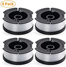 YDSL 4-Pack String Trimmer Replacement Spool for Black and Decker AF-100 Autofeed Weed Eater Spool 30 Feet/0.065 Inches
