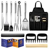 Veken BBQ Grill Accessories, Stainless Steel BBQ Tools Set for...