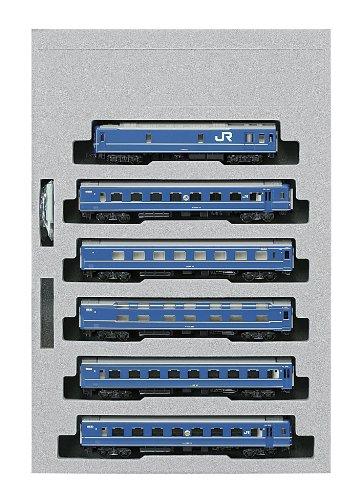 KATO Nゲージ 24系 寝台特急 あけぼの 基本 6両セット 10-822 鉄道模型 客車