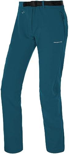 Trangoworld pc008106 4s1 2x C Pantalon Long, Femme, Bleu Profond, 2x l