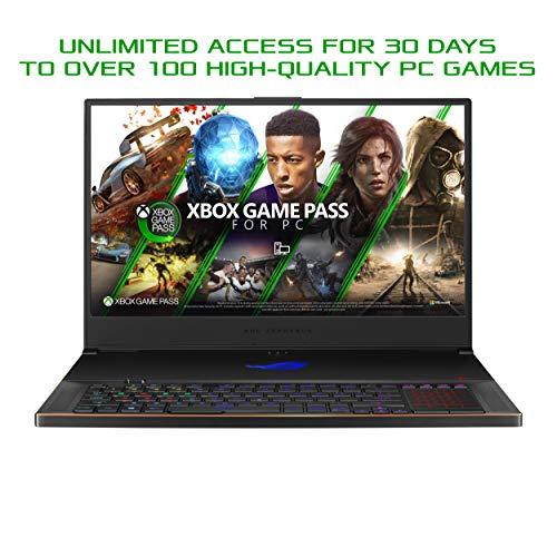 "ASUS ROG Zephyrus S17 Gaming Laptop, 17.3"" 300Hz FHD Display, NVIDIA GeForce RTX 2070 Super, Intel Core i7-10750H, 16GB DDR4, 1TB SSD, Per-Key RGB Keyboard, Thunderbolt 3, Win10 Pro, GX701LWS-XS76"