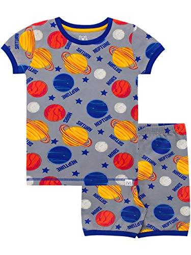 Harry Bear Pijama Corta para nios Espacio Gris 7-8 Aos