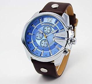 CURREN 8176 Luxury fashion Leather Strap Quartz Waterproof Watch for Men