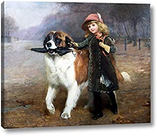 Off to School by Charles Burton Barber - 8