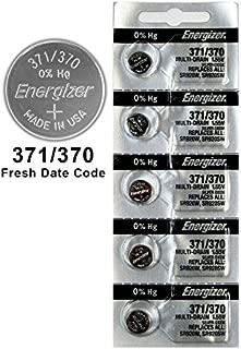 100X Energizer 371/370 Battery Silver Oxide Button Multi-Drain 1.55V SR920SW