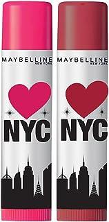 Maybelline New York Baby Lips Loves NYC Lip Balm, Highline Wine & Manhattan Mauve (Pack of 2) 4g+4g