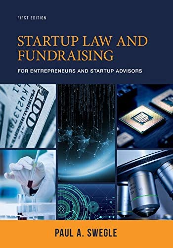 Startup Law and Fundraising for Entrepreneurs and Startup Advisors product image