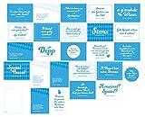 Monaco Franze - der ewige Stenz: 25-teiliges Postkarten-Set mit Originalsprüchen von Monaco Franze (Helmut Fischer), inkl. Notizblock. Bayerische Geschenkidee mit Zitaten von Monaco Franze.