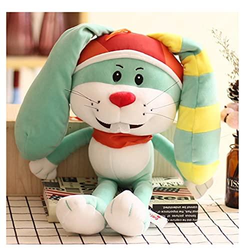 Precioso Conejo De Peluche, Lindos Juguetes Blandos De Dibujos Animados, Muñecos De Peluche De Animales, Acompaña A Tus Hijos, para Niños, Cumpleaños, 25 Cm