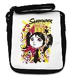 Sandpaper Little Girl Pop Art Small Shoulder Bag