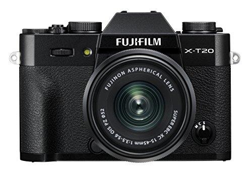 Fujifilm X-T20 Black Fotocamera Digitale 24MP con