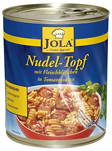 Jola Nudeltopf mit Fleischklößchen und Tomatensauce, 800 g