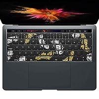 igsticker MacBook PRO 15inch 2016 ~ 専用 キーボード用スキンシール キートップ ステッカー A1990 A1707 Apple マックブック エア ノートパソコン アクセサリー 保護 050182