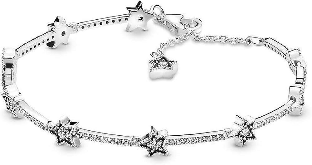 Pandora, collana da donna in argento sterling 925 598498C01-16