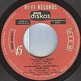 Usamljeni Dečak (Cielo Rojo)/Margareta - Margarita - Margaro/Uvela Ruža (Vuela Paloma)/Ptica Sa Planine (Pajarillo Dela Siera)(7' Vinyl EP)(1965)(Diskos EDK 3042)