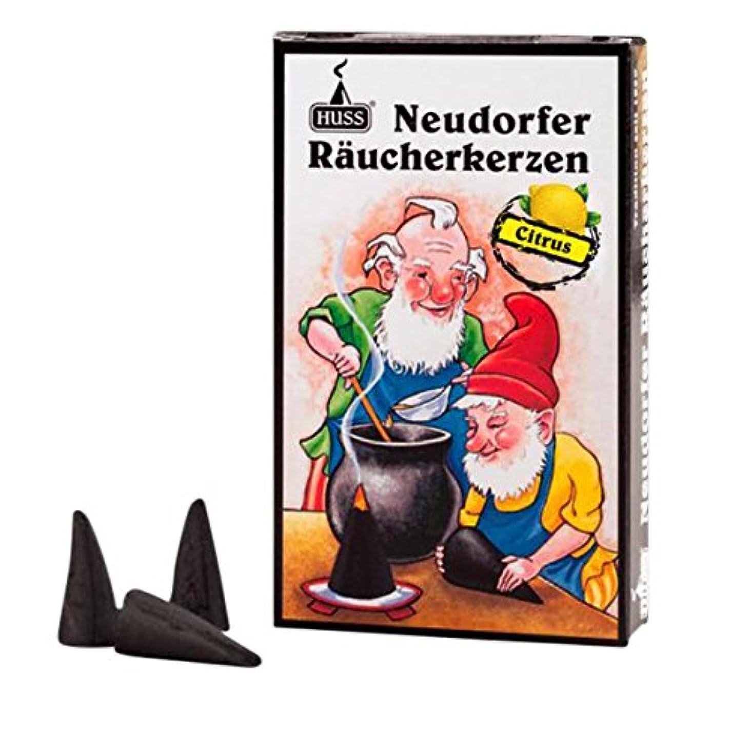 虐待飲み込む邪魔するHuss Incense Cones for German Incense Smoker?–?Citrus?–?環境にやさしいドイツのハンドメイド