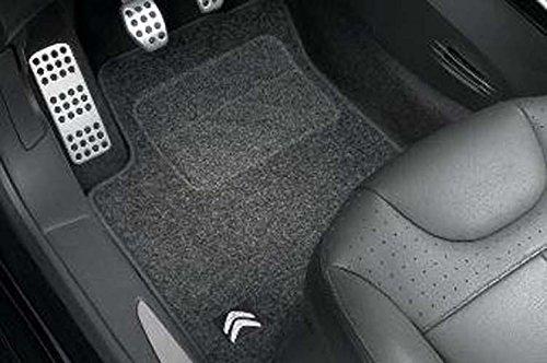 Juego de alfombras de moqueta delantera y trasera C3, fieltro punzonado (A51).