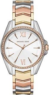 Michael Kors Whitney Women's White Dial Stainless Steel Analog Watch - MK6686
