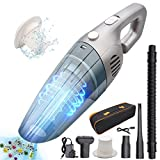 LKE Handheld Vacuums Cleaner Cordless, Portable Handheld Vacuum Cleaner with 7000Pa Powerful Suction, 120W...