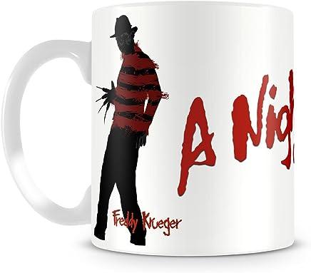 Preisvergleich für Offizielles Lizenzprodukt A Nightmare On Elm Street Kaffeetasse, Kaffeebecher