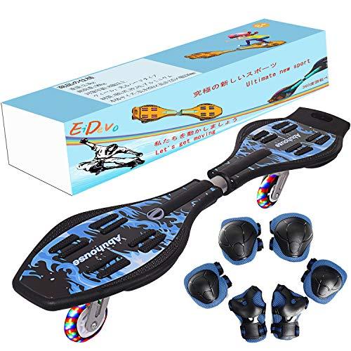 EiDevo Waveboard, Double Wheel Scooter Roulette...