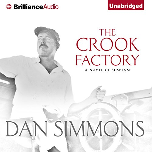The Crook Factory audiobook cover art