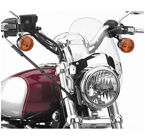 National Cycle Flyscreen Windshield, Chrome, Light Tinted N2534