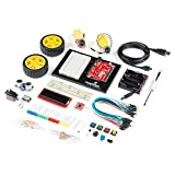 SparkFun Inventors Kit v4.1-Compatible with Arduino-Beginner Kit Age 10 Plus Start Learning Programming Electronics Use: Education Classroom MakerSpace Library Home Learning Build a Robot No Soldering