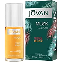 Jovan Tropical Musk Eau de cologne para hombre, 88 ml