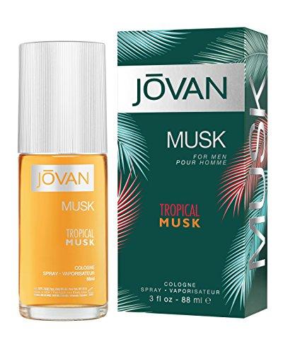 Jovan Tropical Musk Eau de Cologne für Herren, 88 ml