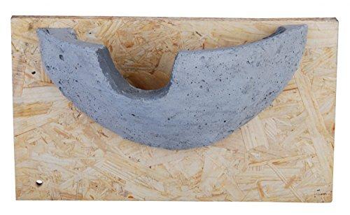 Schwalbennest, Nisthilfen Auswahl für Rauchschwalben oder Mehlschwalben (Mehlschwalbennest grau)