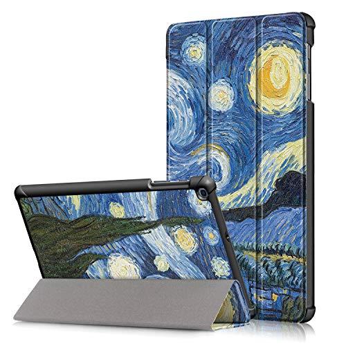 Fmway Cover Custodia per Samsung Galaxy Tab A 10.1 Pollice (T510/T515) 2019 con Funzione di Stand