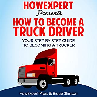 How to Become a Truck Driver audiobook cover art