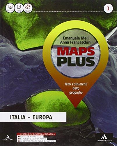 Maps plus. Fascicolo-Atlante-Regioni. Per la Scuola media. Con e-book. Con espansione online: 1
