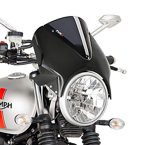 Windschild für Ducati Monster 900 93-02 Puig Vision Carbon-dunkel getönt