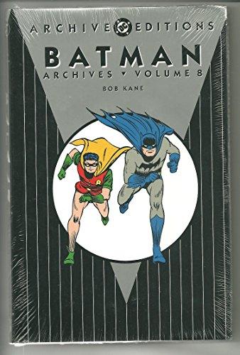 Batman Archives HC Vol 08 by Bob Kane (Artist), Lew Schwartz (Artist), Dick Sparng (Artist), (22-Jun-2012) Hardcover