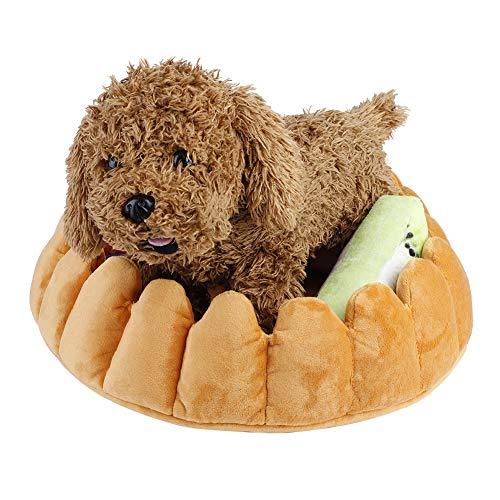 Lindas Mascotas Pad Tart Mat De La Cama De La Cama con La Suave Almohada En Forma De Fruta para Los Perros Los Gatos Guardan La Guerra 0321