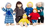 TOYS pure SO218 - Biegepuppen City-Familie