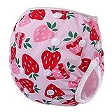 Storeofbaby Maillots de bain ajustables de couche-culotte de bébé réutilisable pour des enfants en bas âge 0-3 ans